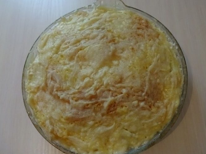 Картофельный гратен в микроволновке