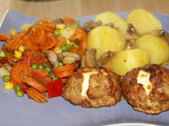 Картофельные крокеты с сыром и зеленью