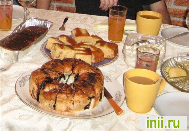 """Медовый пирог """"с Яблоком"""" на праздник Рош ха Шана!"""