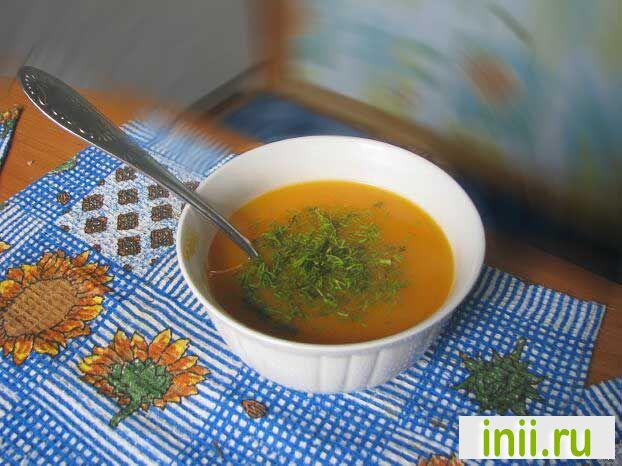 Морковный суп