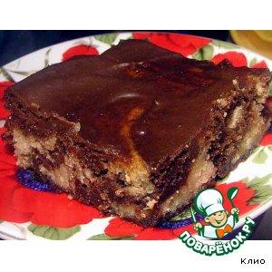 Шоколадные тающие пирожные