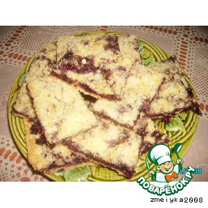 Пирог из штрейзеля
