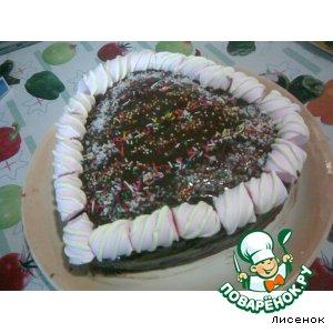 """""""Шоколадный"""" торт"""