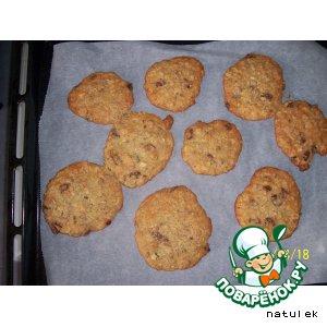 Печенье с мюсли