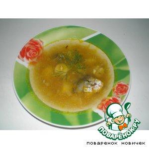 Суп с сардинами