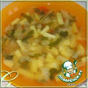 Весенний суп с молодой крапивой