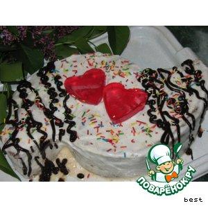 """Торт """"Свадебный переполох"""""""