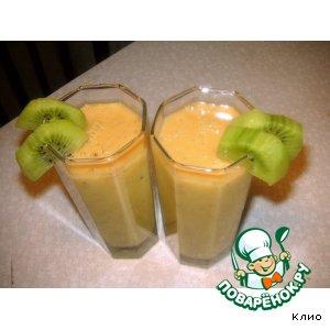 Бананово-манговый коктейль