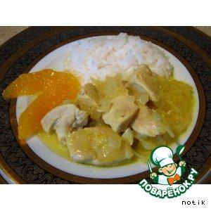 Куриные грудки в апельсиновом соусе