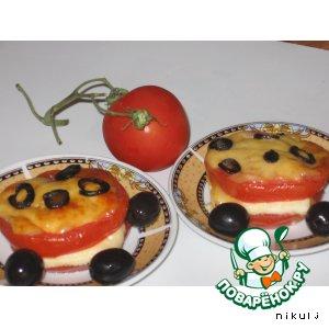 """Фаршированные помидоры """"Италия"""""""