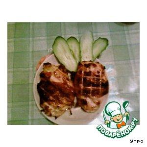 Курица «По-буржуйски»
