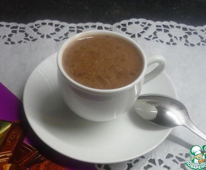 Кисель с шоколадом