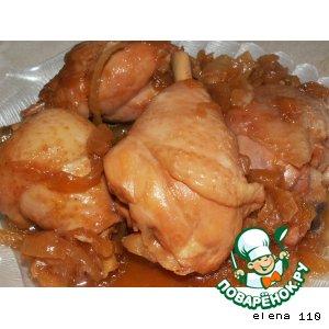 Курица по-японски
