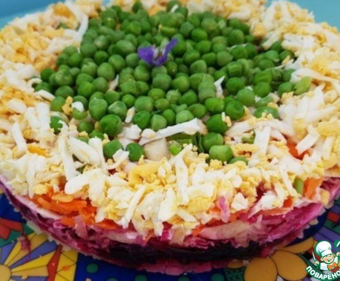 Овощной салат «Фантазия»
