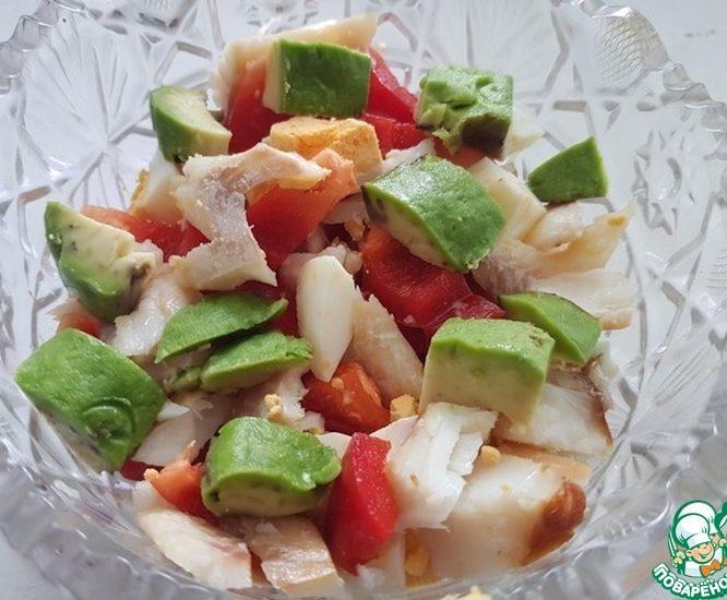 Классный салат из авокадо