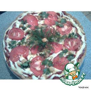 Пицца - торт