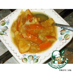 Варенье апельсиново-лимонное