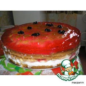 Торт «Фруктовое безумство»