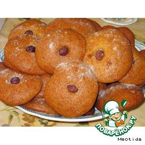 Печенье медовое c фундуком