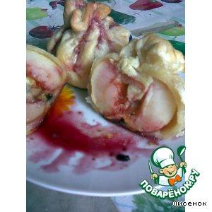 Яблоки в слойке