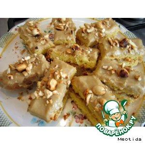Пирожное кофейно-ореховое