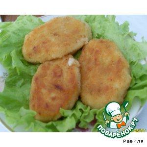 Картофельно-капустные котлеты