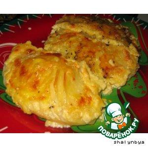 Картофель, запеченный в сыре