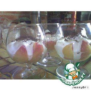 Персиковый десерт