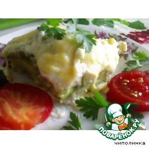 Запекнка картофельная с кабачками
