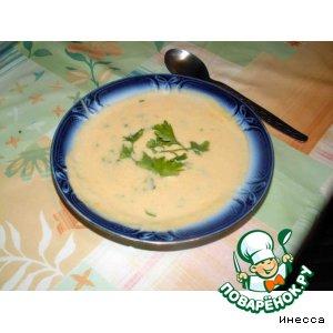 Суп-пюре из корня сельдерея