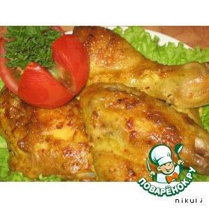 Курица в пряном маринаде