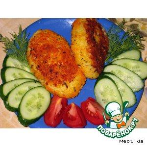 Зразы из картофеля с рыбкой
