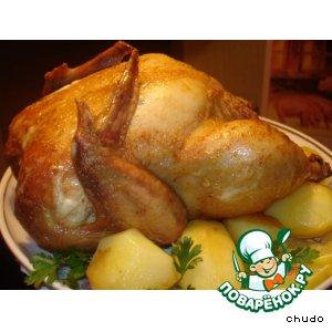 Курица в ткемали