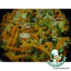 Морковь, запеченная с маком