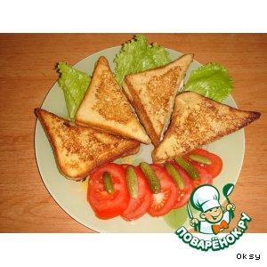 Сэндвичи из французских тостов