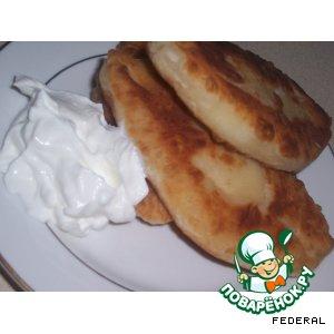 Пирожки плоские