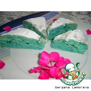 Голубой кекс