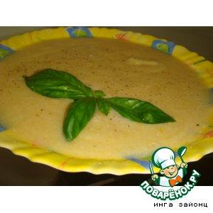 Картофельно-куриный суп-пюре с цветной капустой
