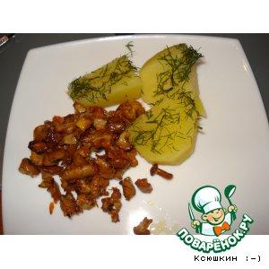 Варeная картошечка с лисичками