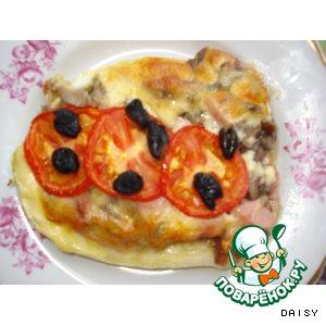 Пицца-кабачок