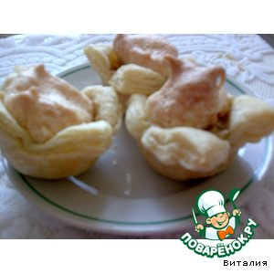 Слоеные банановые пирожные