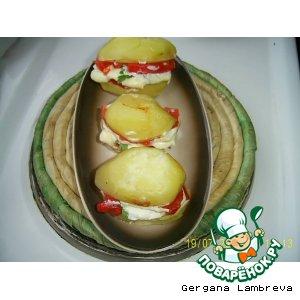 Картофельные бургеры