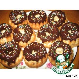 Мини-кексы с изюмом и шоколадом