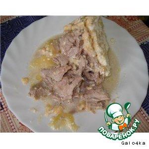 Свинина с кабачками