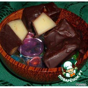 Конфеты из пармезана