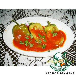 Перец печеный в томатном соусе