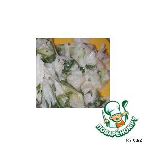 Салат из дайкона