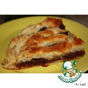 Слоеный пирог с горной курагой