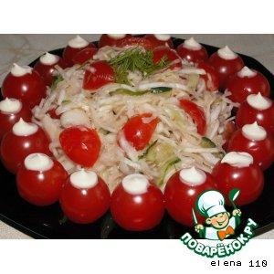 """Овощной салат """"Просто, но со вкусом"""""""