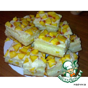 """Творожный торт """"Солнечный Лис"""""""